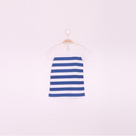 Comprar ropa de niño online Vestido niña rayas