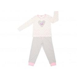 Pijama largo niña butterflies-ALM-19177711-Tobogan