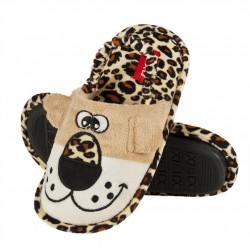 Zapatillas tundosadas elático con suela de goma animales salvajes-ALM-NO32958-Soxo