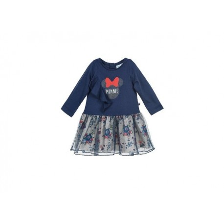 Vestido bebe manga larga minnie-ALM-NOHS0105-Sun City