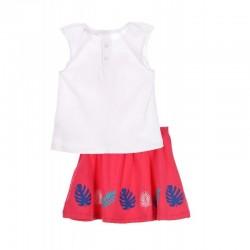 Comprar ropa de niño online Conjunto bebé falda y camiseta