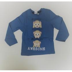 Camiseta manga larga niño-TMBB-40244