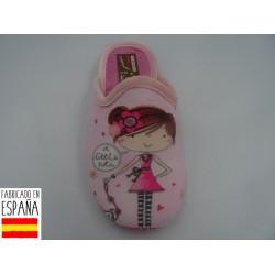 Zapatillas de casa chica destalonadas - PULIDINES - ARI-60-121