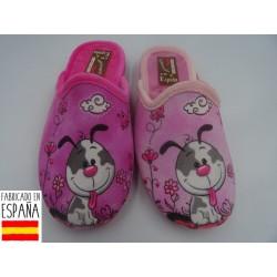 Zapatillas de casa chica dog destalonadas - PULIDINES - ARI-60-126
