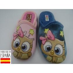 Zapatillas de casa chica cat destalonadas - PULIDINES - ARI-60-122