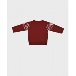 Jersey niño burdeos ciervos-LOI-1018024801-La Ormiga
