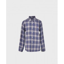 Camisa niño cuadros grises/ azafata col. 25-LOI-1012172901-1-La Ormiga