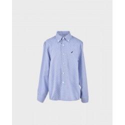Camisa niño azafata lunar marino-LOI-1012091401-La Ormiga