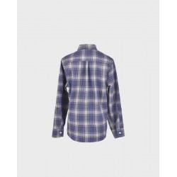Camisa niño cuadros grises/ azafata col. 25-LOI-1012172901-La