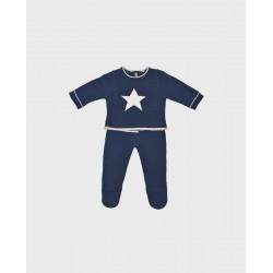 Conjunto nicky + polaina azul estrella-LOI-1018072301-La Ormiga