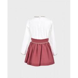 Conjunto niña blusa y falda-LOI-1010294820-1-La Ormiga