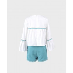 Conjunto niña blusa y short-LOI-1010130421-1-La Ormiga