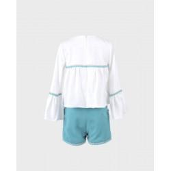 Conjunto niña blusa y short-LOI-1010130421-La Ormiga