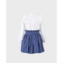 Conjunto niña blusa y falda-LOI-1010272320-1-La Ormiga