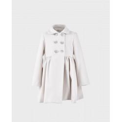 Abrigo niña zetta blanco-LOI-1017610301-La Ormiga