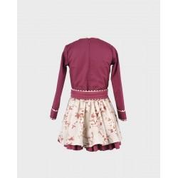 Conjunto niña blusa y falda-LOI-1010024820-La Ormiga