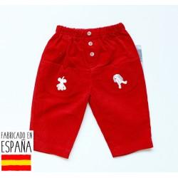 Pantalón bebé detalle bolsillos-TBI-6804-Tony Bambino