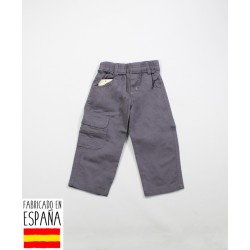 Pantalón bolsillo bebé cintura elástica-TBI-11800-Tony Bambino