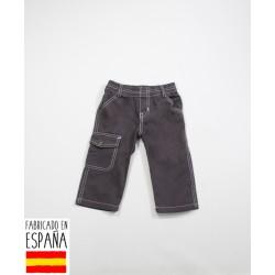 Pantalón bolsillo bebé cintura elástica-TBI-11801-Tony Bambino