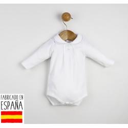 Body manga larga cuello bebé-TBI-21764A-Tony Bambino