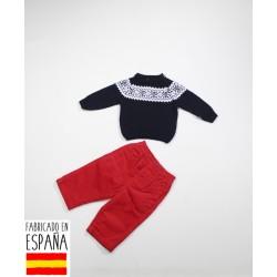 Conjunto jersey+pantalón bebé-TBI-15889M-Tony Bambino