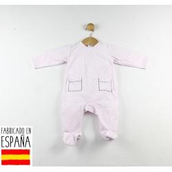 Pijama tipo pelele topitos-TBI-21660R-Tony Bambino
