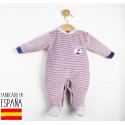 Pijama tipo pelele navy-TBI-21662-Tony Bambino