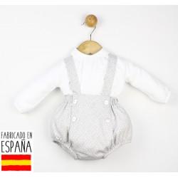 Conjunto ranita y camisa cuello bebé--TBI-21401-Tony Bambino