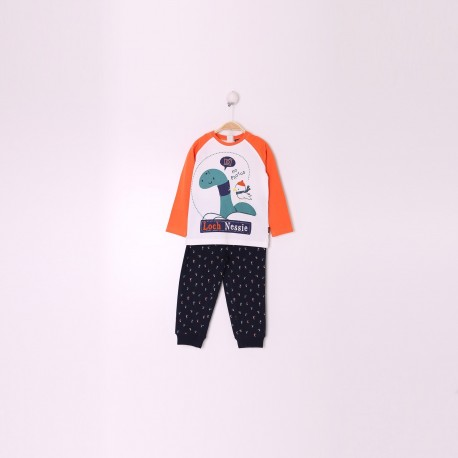 Conjunto niño color unico dibujitos-ALM-29047-Street Monkey