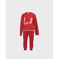 Chandal bebe niña rojo-ALM-1011240501-LA ORMIGA
