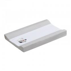 Cubrebañeras con esponja mod amigos- dimensiones (55 x 80 cm)-100 % alg + espuma-IBI-91209-31-Interbaby