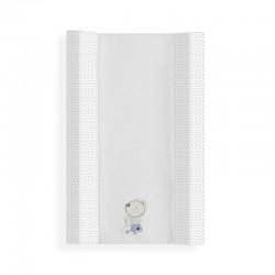 Cubrebañeras con esponja mod nature- dimensiones (55 x 80 cm)100 % alg + espuma-IBI-91759-Interbaby