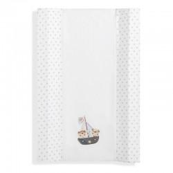 Cubrebañeras con esponja mod pirata- dimensiones (55 x 80 cm)- composición 100 % alg + ...-IBI-91909-Interbaby