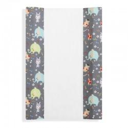 Cubrebañeras con esponja mod jungla-dimensiones (55 x 80 cm)-IBI-92109-Interbaby