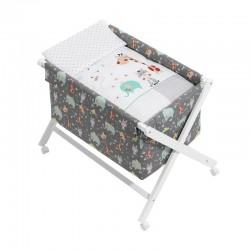 Minicuna +textil mad bca mod jungla-dimensiones (55 x 90 x 72 cm)-IBI-92122-Interbaby
