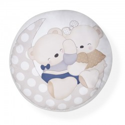 Cojin decorativo mod amorosos-dimensiones 40 x 45 x 15 cm-composición ext 100 %alg / in...-IBI-CD003-Interbaby