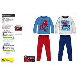 Pijama largo 100% algodón PAW PATROL Niño