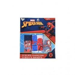 Caja 3 slips 100% algodón-ET3010-SPIDERMAN