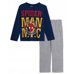 Pijama largo algodón-SCI-HS2039-1-SPIDERMAN