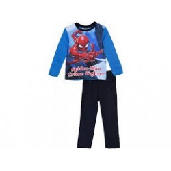 Pijama largo 100% algodón-SCI-HS2040-SPIDERMAN