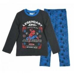 Pijama largo niño 100% algodón-SCI-HS2042-SPIDERMAN