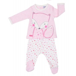 Conjunto polaina interlook Zorrito estrellas-YATSI