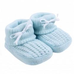 Patuco tricot bebé unisex Linolito