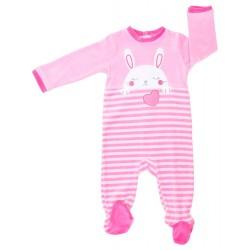 Pelele bebé niña tundosado Bunny-YATSI