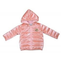 Chaqueta con capucha bebé niña-YATSI