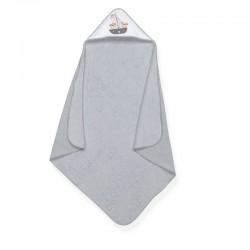 Capa de baño 1 x 1 mt mod pirata 100% algodón-IBI-01102-30/31/35-Interbaby