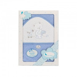 Capa de baño 1 x 1 mt mod oso conejo carrito 1005 algodon-IBI-01222-01/02/05/11/12/18/31-Interbaby
