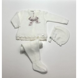 PBI-2011-Celeste/Mezcla fabricantes de ropa de bebe Conjunto 3