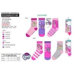 Pack de 3 calcetines-SCI-RHS0688-MY LITTLE