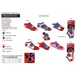 Pack de 3 calcetines-SCI-ET0634-LADY BUG